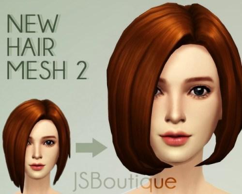 New Hair mesh 02