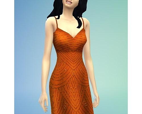 Glanz dress recolor