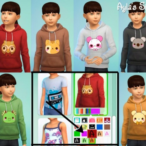 Sweatshirts for kids