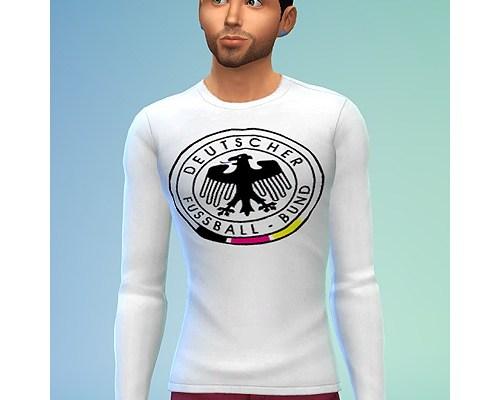 German football association shirt