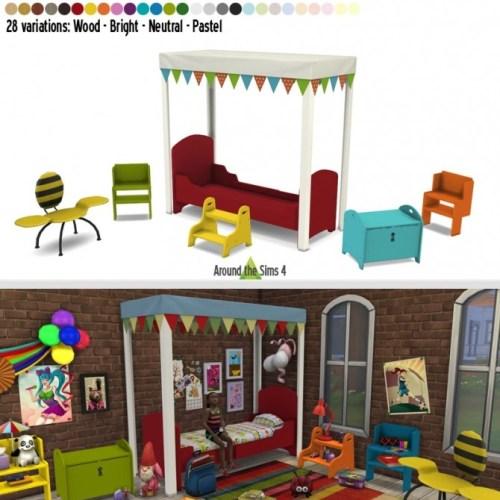 IKEA-like Kid Bedroom