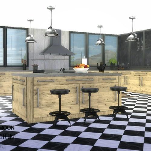 Vanadium Kitchen by wondymoon