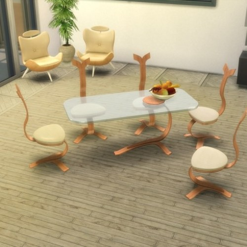 TS2 to TS4 Milano Royale Dining Set by LOolyharb1