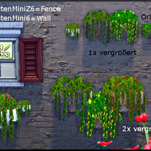 Various flower boxes by Christine1000