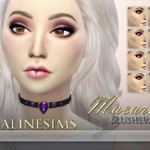 Macaron Blusher by Pralinesims