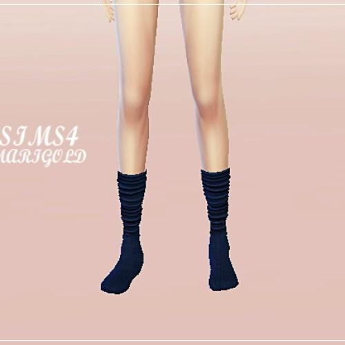Wrinkle socks 3 versions