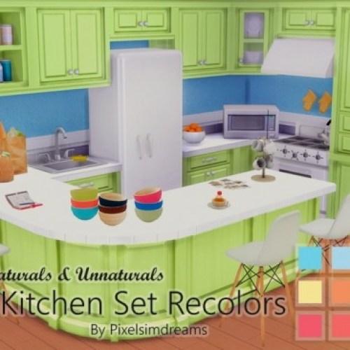 Cargeaux Kitchen Set Recolors