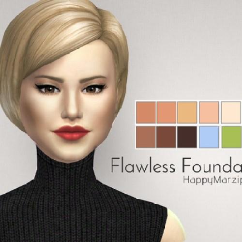 Flawless Foundation by HappyMarzipan