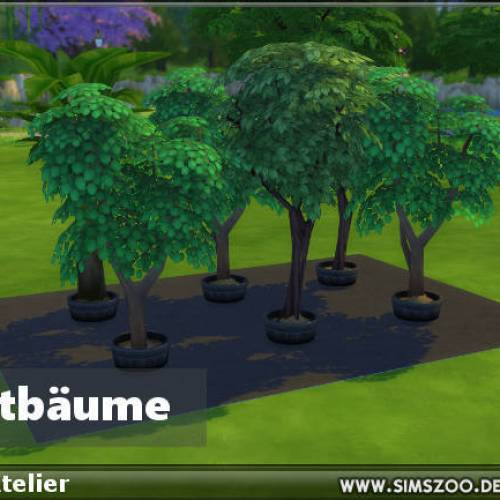 Fruit Trees by SimsAtelier