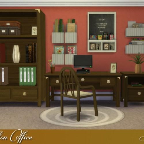 Carlton Office by Lulu265