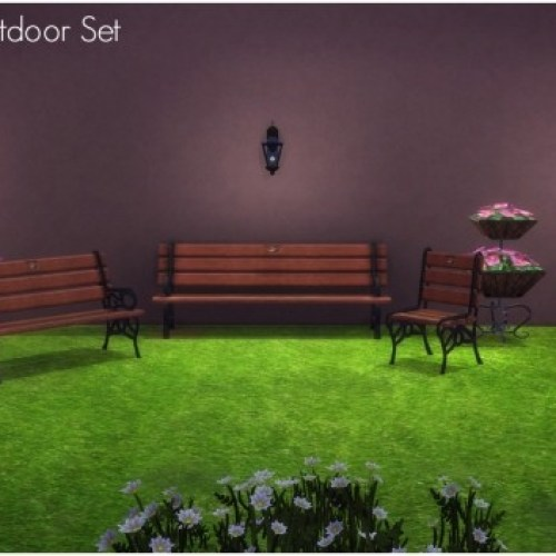 TS2 to TS4 Piece of Quiet Outdoor Set by Elias943