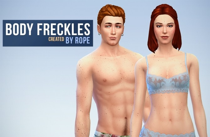 Body And Face Freckles