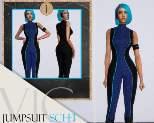 JUMPSUIT APOCALYPSE SCI-FI by Viy Sims