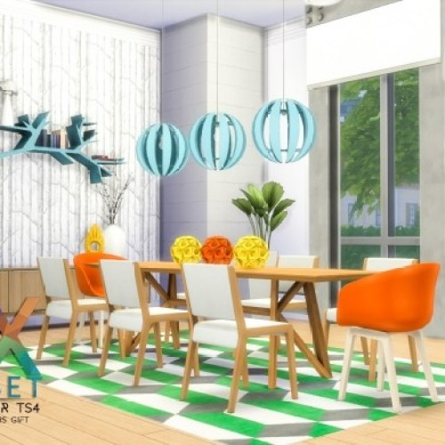 NOX Dining Set by Peacemaker IC