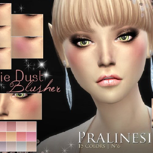 Pixie Dust Blusher by Pralinesims