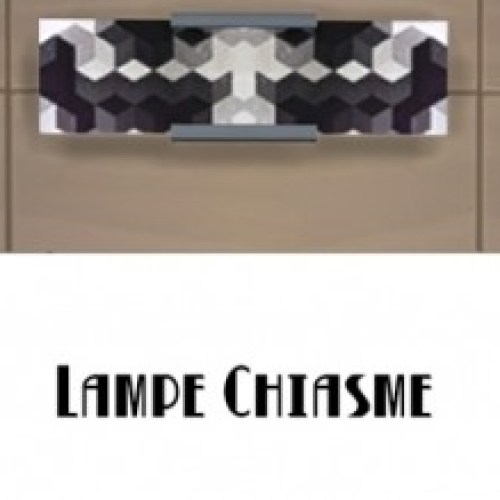 CHIASME wall lamp by Fuyaya