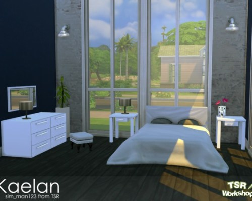 Kaelan Bedroom by sim_man123