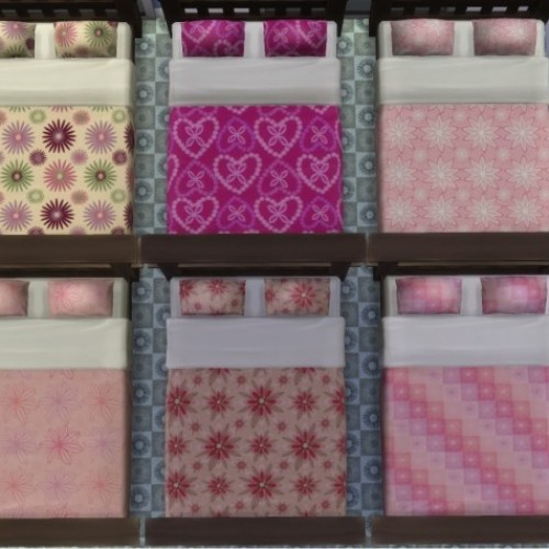 Floral Bed Set in 6 Designs by wendy35pearly