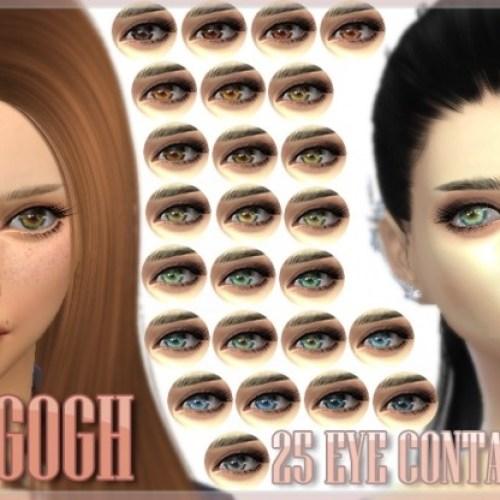 Van Gogh 25 Eye Contacts by kellyhb5
