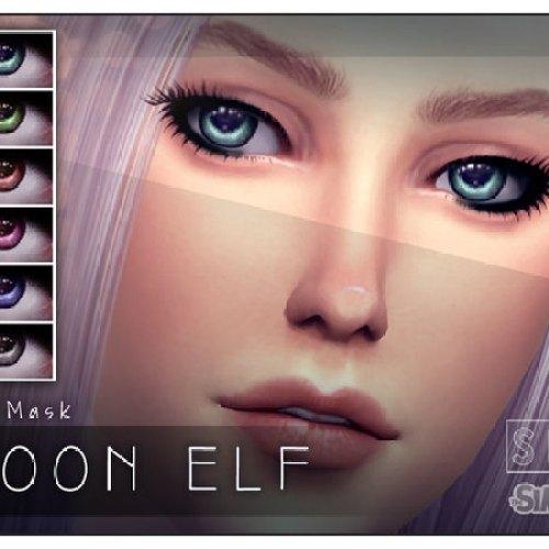 Moon Elf Eye Mask by Screaming Mustard