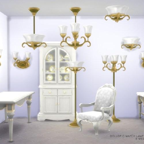 Dollop O Match Lamp Set by DOT