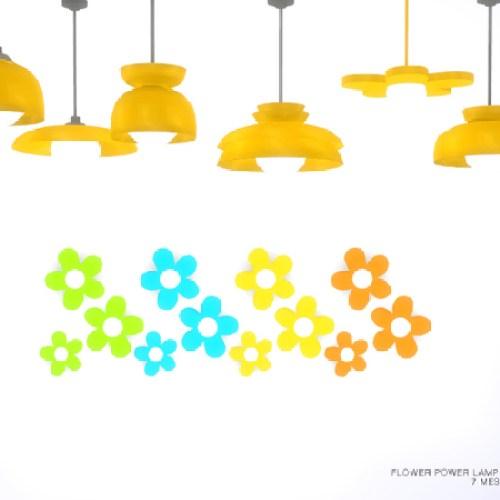 Flower Power Lamp Set by DOT
