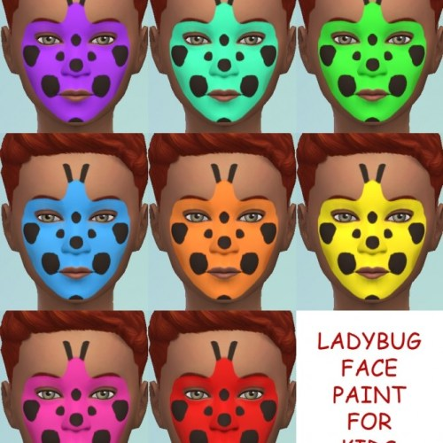 4 New Face Paints for Kids by Simmiller