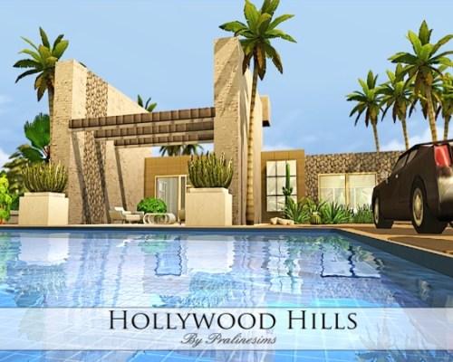 Hollywood Hills Villa by Pralinesims