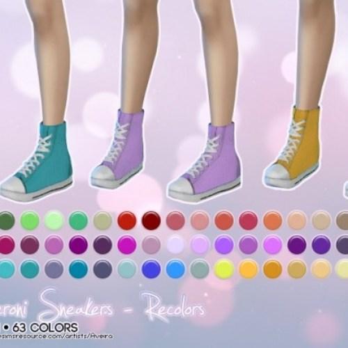 Madlen's sneakers recolors