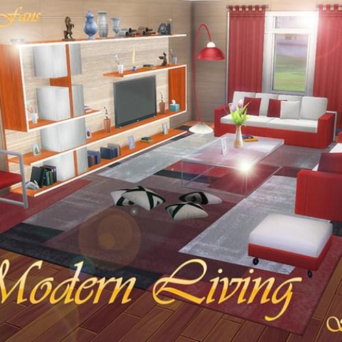 Modern Living Room Furniture by Sim4fun