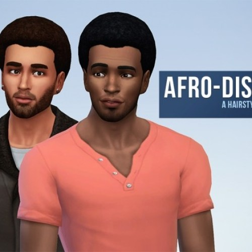 Afro-disiaque hair for males by Rope