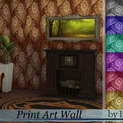 Print Art Wall by Ineliz