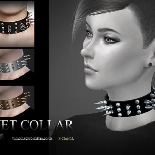 Rivet collar F&M by S-Club LL