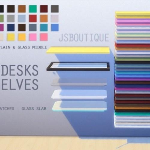 Slab Desks at
