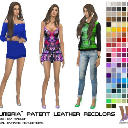 Madlen Umbria peeptoe pumps recolors