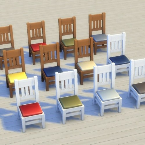Mega Dining Chair Recolours/Override by plasticbox