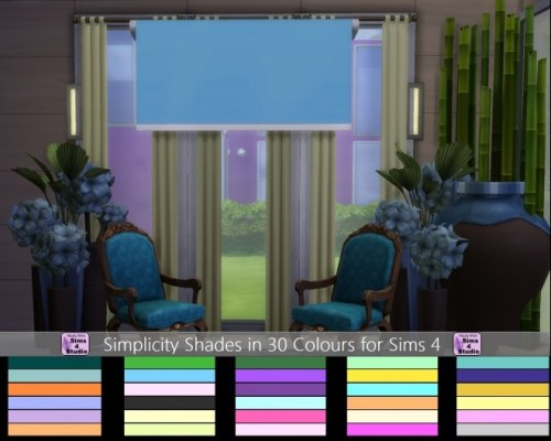 Simplicity Shades in 30 colours by wendy35pearly