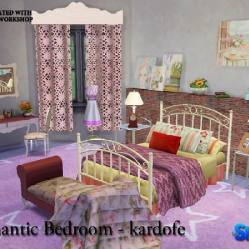 Romantic Bedroom by kardofe