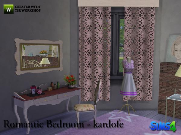 Romantic Bedroom By Kardofe Sims 4 Bedroom
