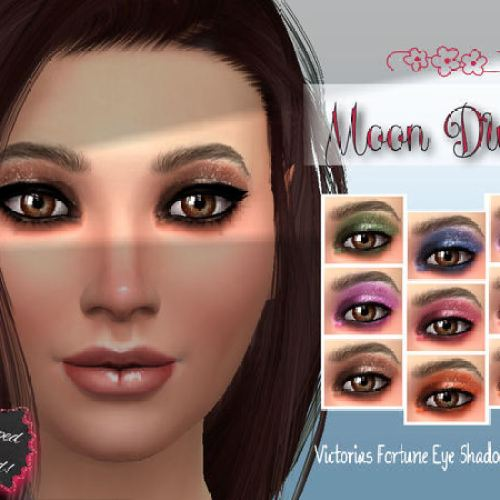 Moon Dust Eye Shadow Collection by fortunecookie1