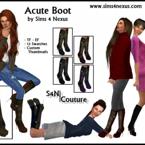 Acute Boot by SamanthaGump