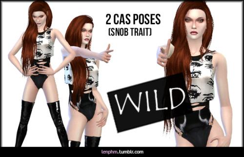 2 CAS Poses