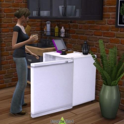 Sims 2 University Mini-Fridge