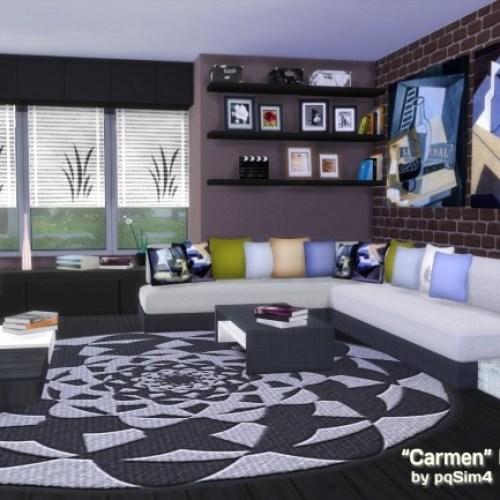 Carmen Living Room by Mary Jiménez
