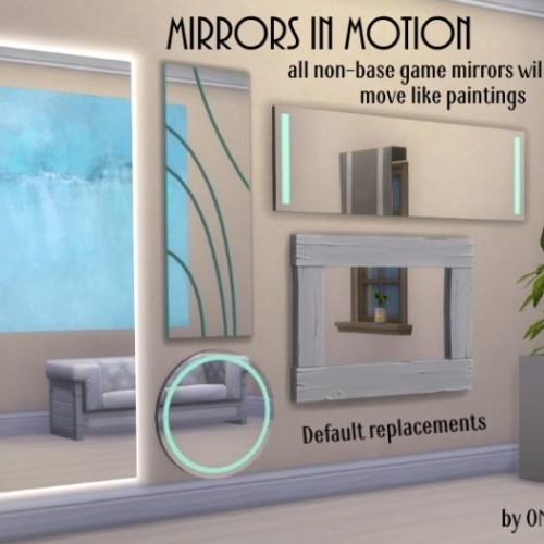 Mirrors in Motion by OM