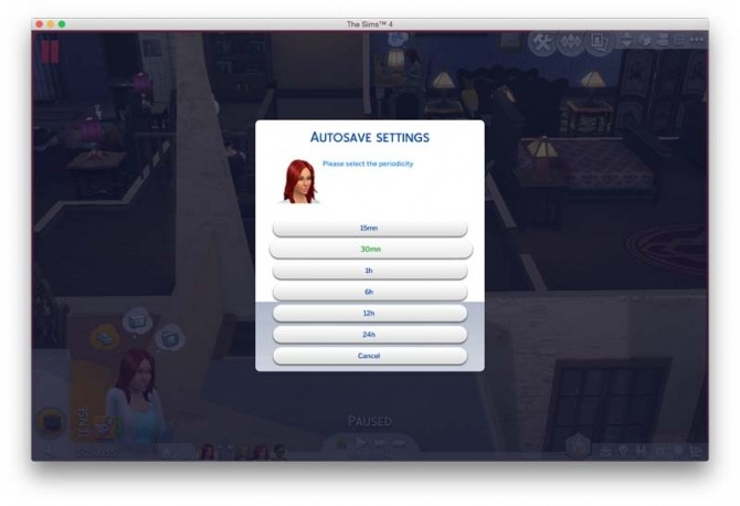 AutoSave For Sims4 By Sachamagne