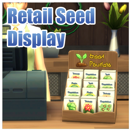 "Functional Retail ""Little Sprout"" Seed Display by Menaceman44"