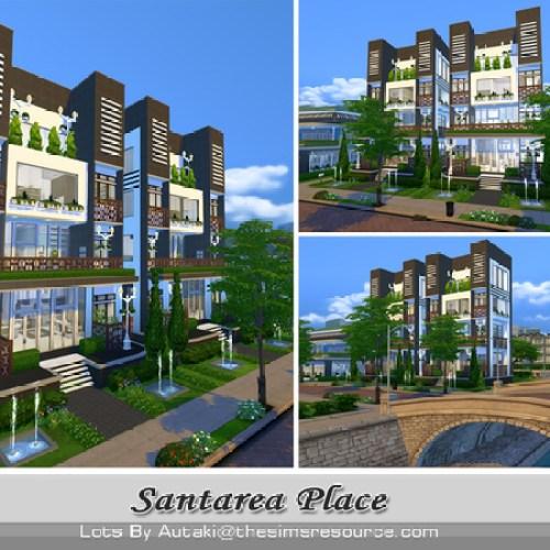 Santarea Place by autaki