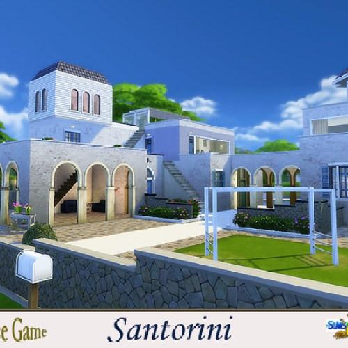 Santorini house by evi