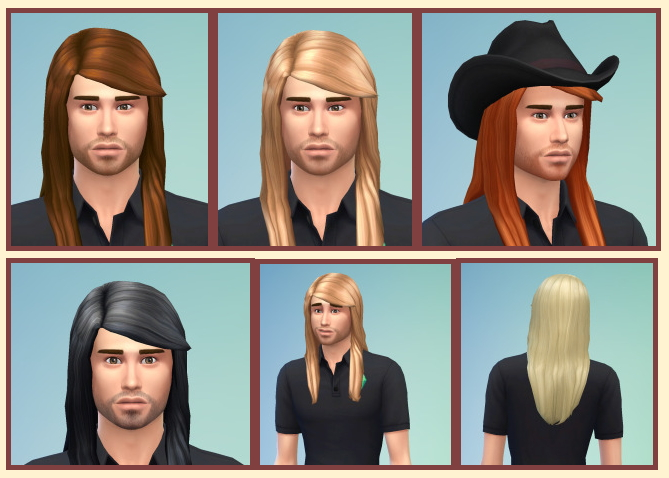 Long Straight Hair For Males